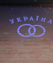 Диплом - микро ворс в УФ (Одесса)